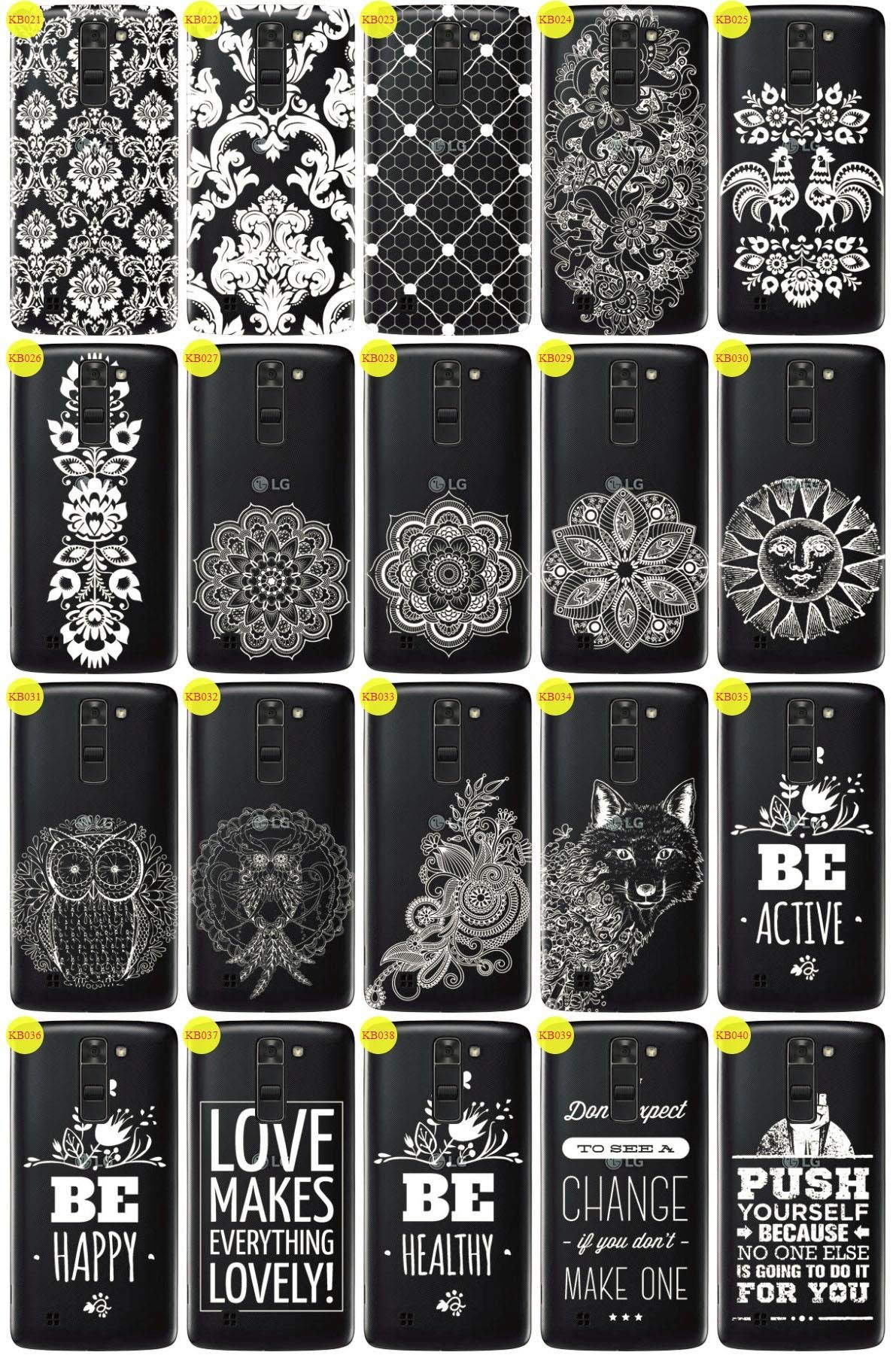 Back Case Cover Overprint Kreatui LaceCase LG K7