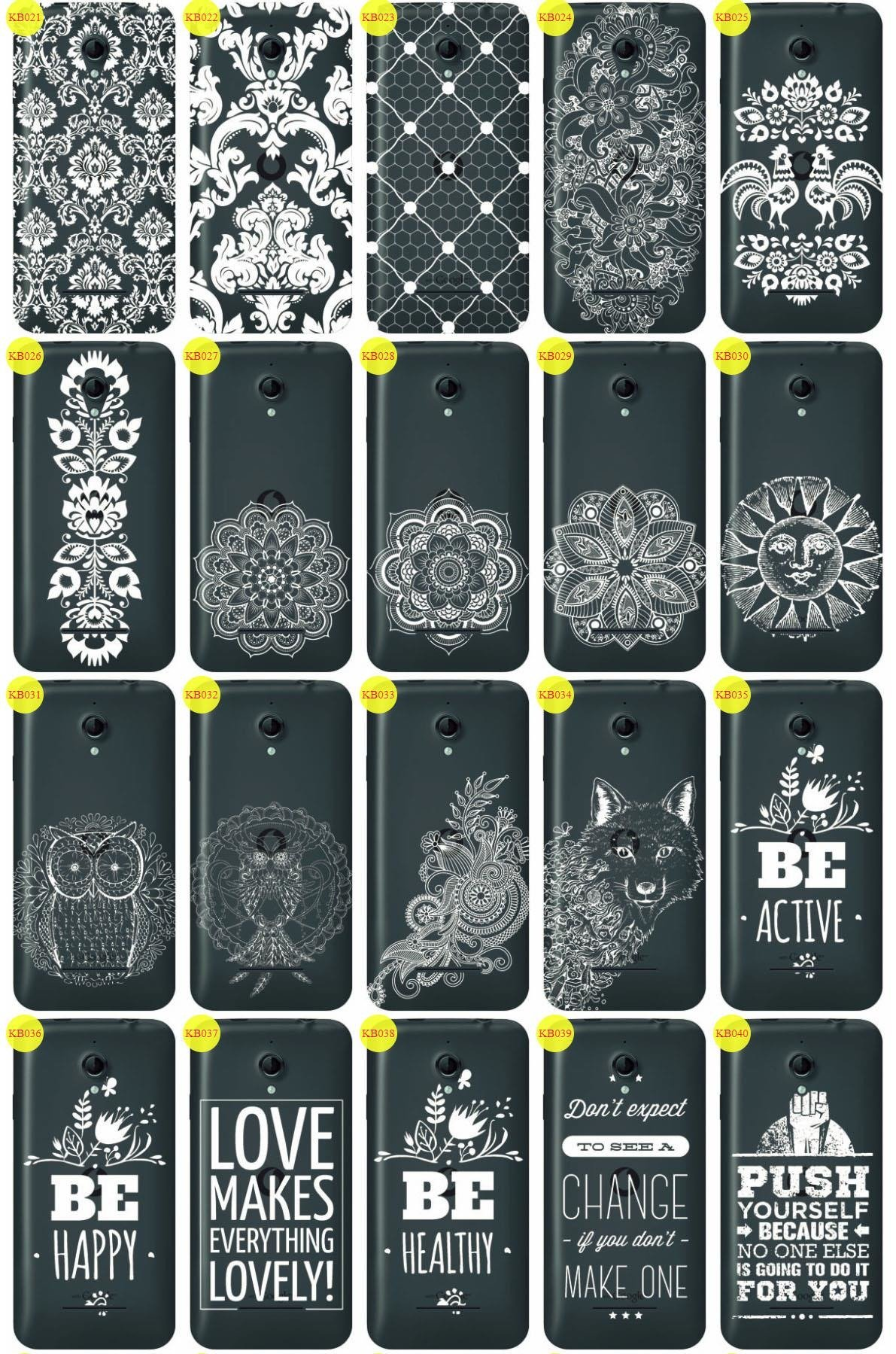 Back Case Cover Overprint Kreatui LaceCase VODAFONE SMART 4 TURBO