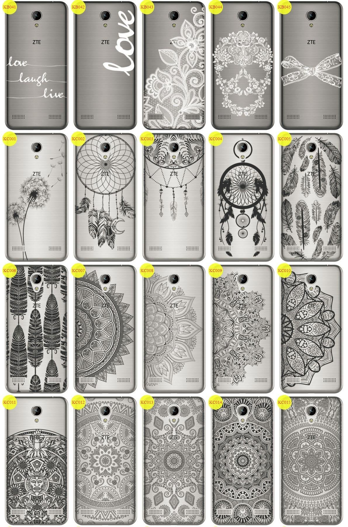 Back Case Cover Overprint Kreatui LaceCase ZTE BLADE A520