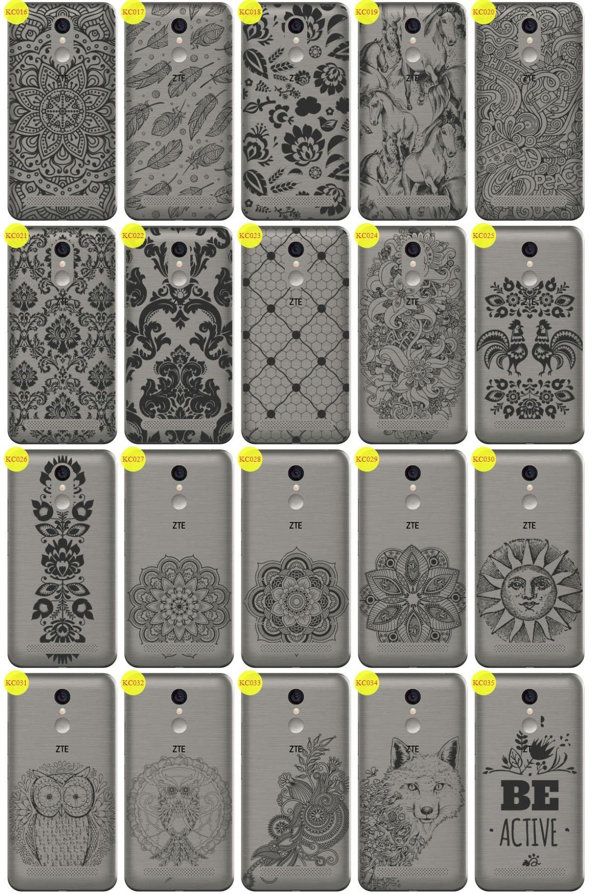 Back Case Cover Overprint Kreatui LaceCase ZTE BLADE A602
