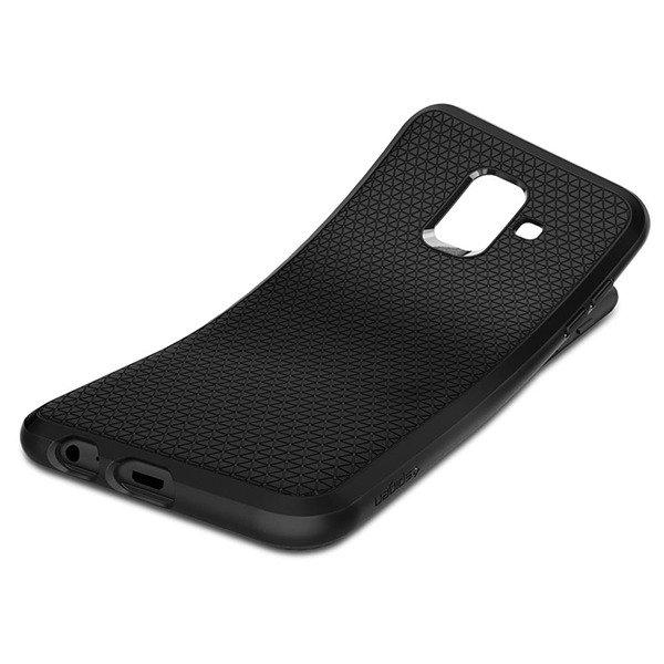 the latest 036ea e8f6b Back case Spigen Liquid Air Series cover Black for SAMSUNG GALAXY A6 2018