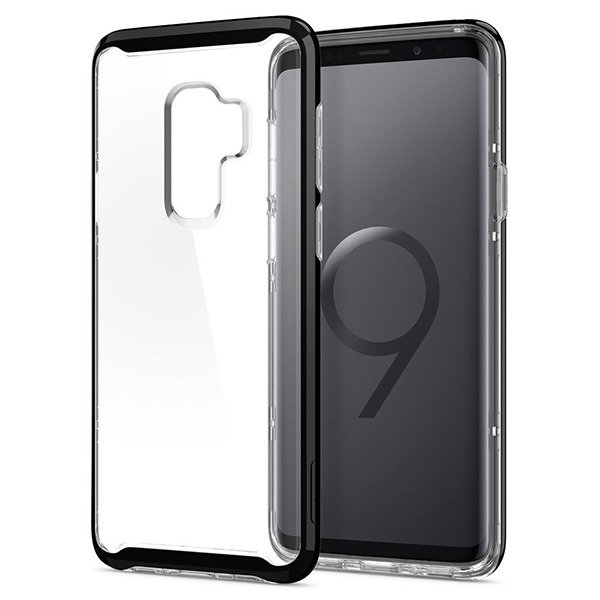 san francisco c09a1 8c162 Back case Spigen Neo Hybrid Series cover Midnight Black for SAMSUNG GALAXY  S9 SM-G960