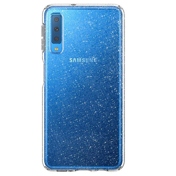 separation shoes ad846 4b521 Back case Spigen series Liquid Crystal Glitter Crystal cover for SAMSUNG  GALAXY A7 2018 SM-A750