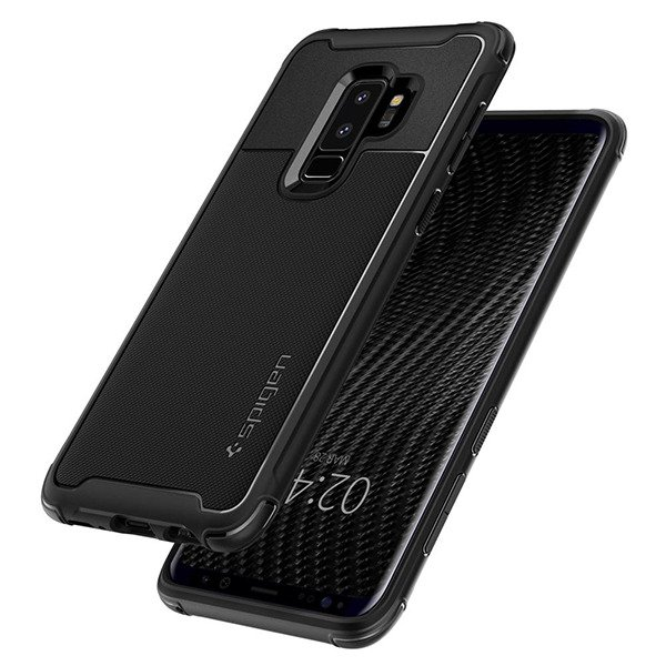 new arrival 5a3d9 fb49a Back case Spigen series Rugged Armor Urban black cover for SAMSUNG GALAXY  S9 PLUS SM-G965