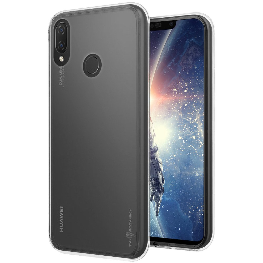 new product a4cf2 ad9f7 Back case Twardowsky Less space cover for HUAWEI NOVA 3I