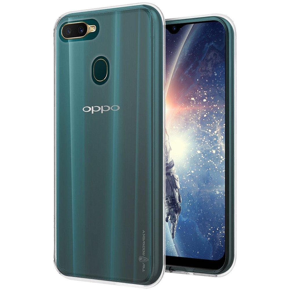sale retailer 72e66 eae62 Back case Twardowsky Less space cover for OPPO A7 + Twardowsky glass 9H