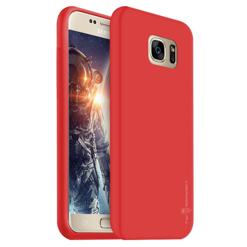 promo code d3236 022ac Back case Twardowsky Red Hole space cover for SAMSUNG GALAXY S7 EDGE  SM-G935 + Twardowsky glass 9H