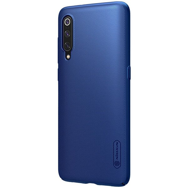 new product 1fda7 250b1 Back case for XIAOMI MI9 / MI 9 of Nillkin series Super Frosted Shield gold  cover + GLASS 9H