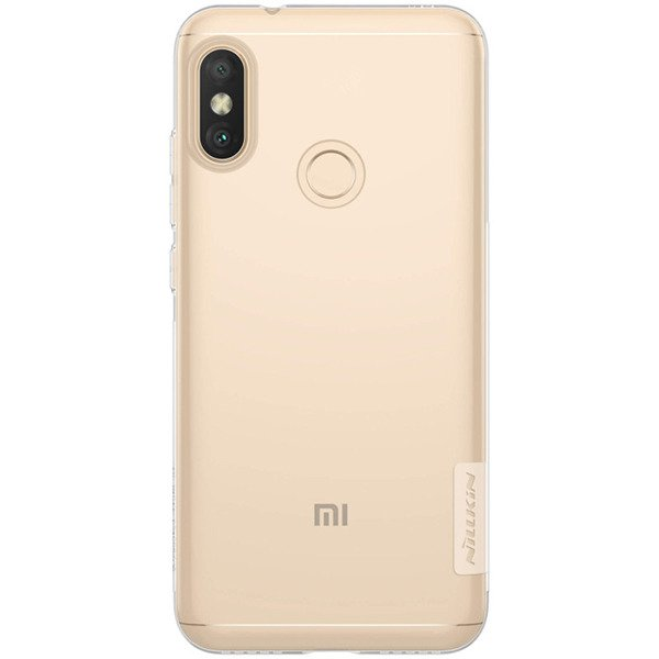 online store 6465e 8a180 Back case for XIAOMI REDMI 6 PRO of Nillkin series Nature TPU transparent  cover