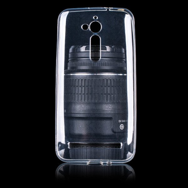 CASE COVER ASUS ZENFONE GO ZB500KG slim 0.3mm TRANSPARENT