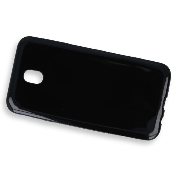 CASE COVER GEL RUBBER JELLY SAMSUNG GALAXY J7 2017 SM-J730 BLACK