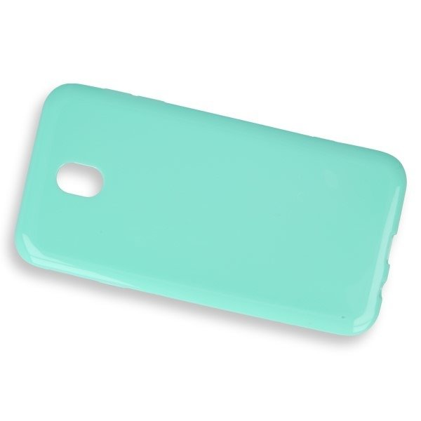 CASE COVER GEL RUBBER JELLY SAMSUNG GALAXY J7 2017 SM-J730 MINT