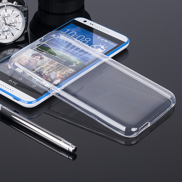 CASE COVER HTC Desire 620 Ultra slim 0.3mm TRANSPARENT NO WATER VAPOR