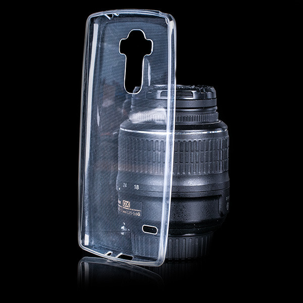 CASE COVER LG G4 STYLUS Ultra Slim 03mm TRANSPARENT NO WATER VAPOR