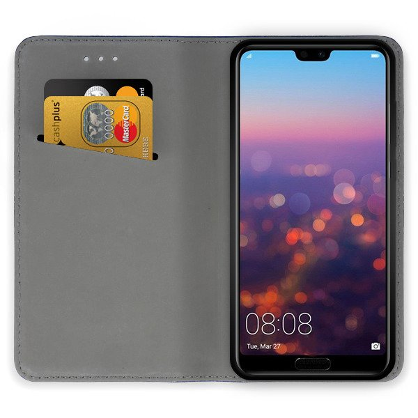 info for f958a 86aa9 CASE COVER Magnetic SmartCase HUAWEI P20 PRO BLACK + GLASS 9H