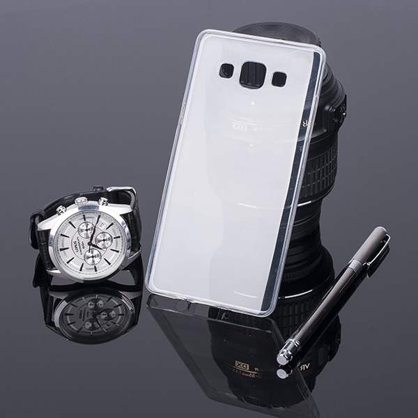 CASE COVER SAMSUNG GALAXY A5 SM-A500 slim 0.3mm CLEAR NO WATER VAPOR