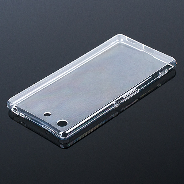 newest d99b5 81677 CASE COVER SONY XPERIA M5 Ultra slim 0.3mm TRANSPARENT NO WATER VAPOR
