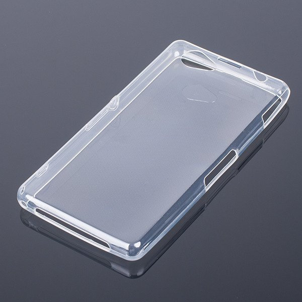 CASE COVER SONY XPERIA Z1 COMPACT 0.3mm TRANSPARENT NO WATER VAPOR