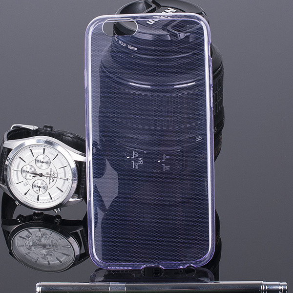CASE COVER for iPhone 6 4,7'' Ultra slim 0.3mm PURPLE NO WATER VAPOR
