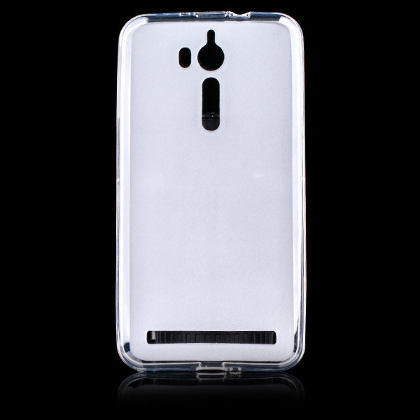 buy popular 85b32 46749 CASE MATT COVER GEL RUBBER JELLY ASUS ZENFONE GO ZB552KL TRANSPARENT