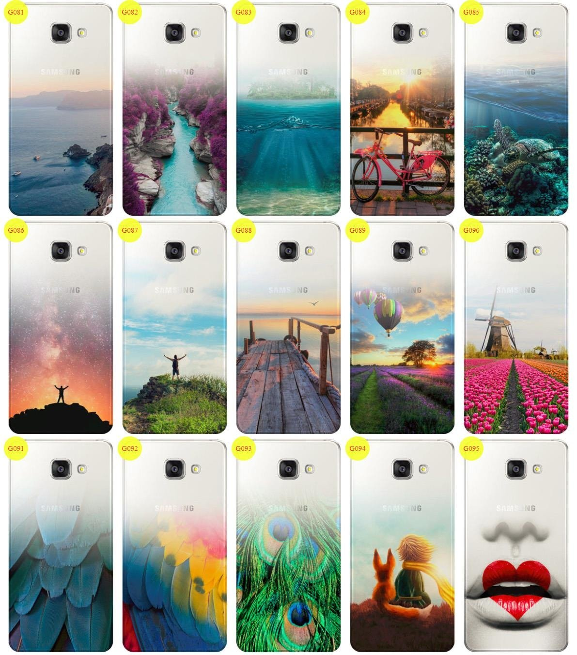 Case Cover Overprint Kreatui Gradient Galaxy A5 2016 Sm A510 Glass Samsung Original Clear Casing For 9h Click To Zoom
