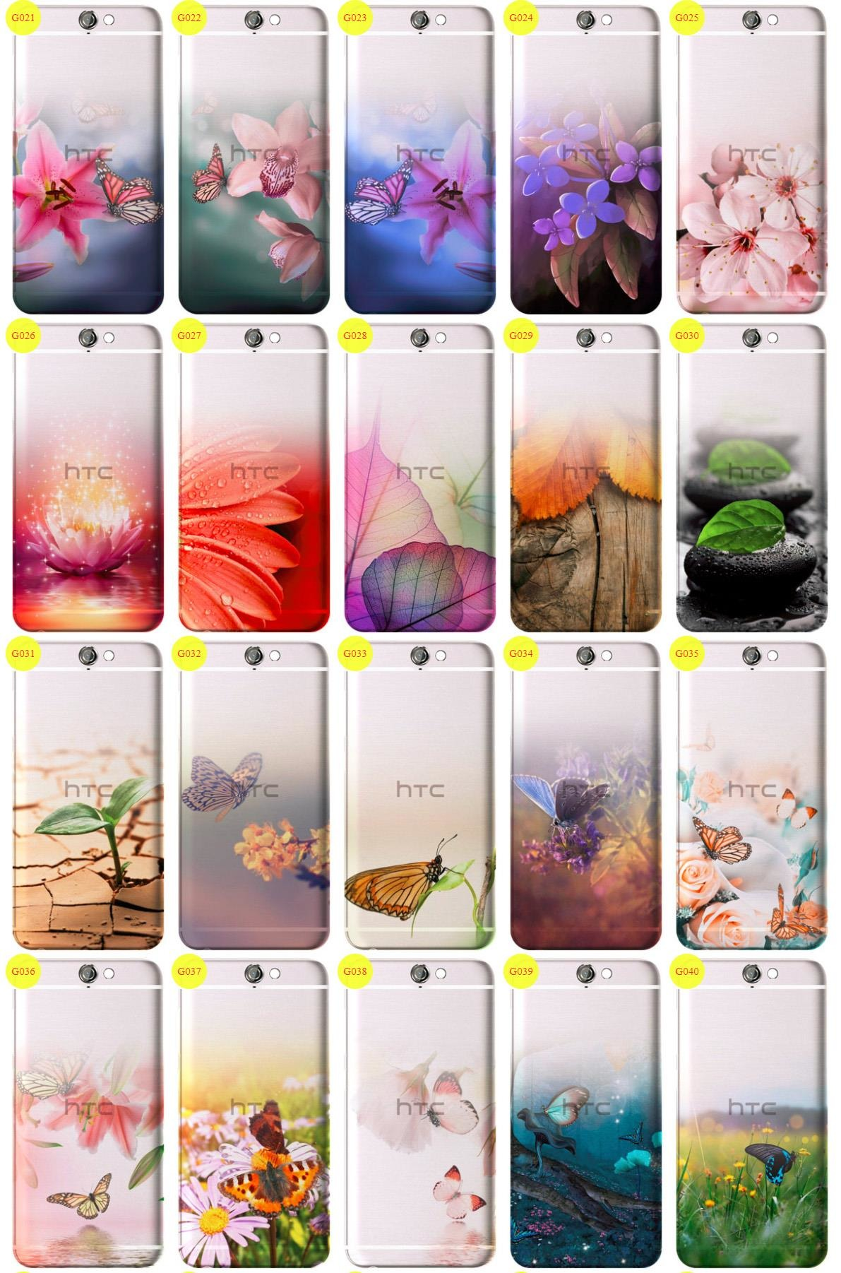 Case Cover Overprint Kreatui GRADIENT HTC ONE A9 + GLASS 9H