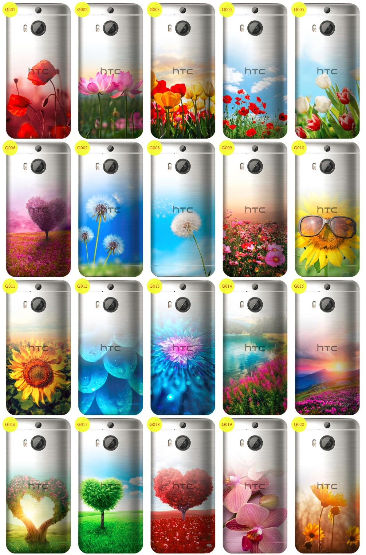 Case Cover Overprint Kreatui GRADIENT HTC ONE M9+ + GLASS 9H