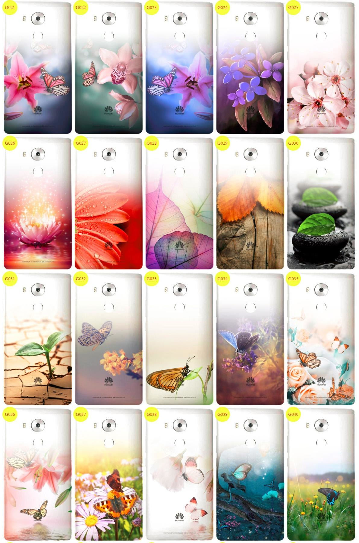 Case Cover Overprint Kreatui GRADIENT HUAWEI MATE 8 + GLASS 9H