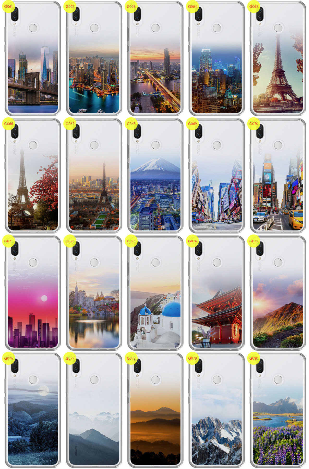 sports shoes 532aa d1b0b Case Cover Overprint Kreatui GRADIENT HUAWEI NOVA 3I