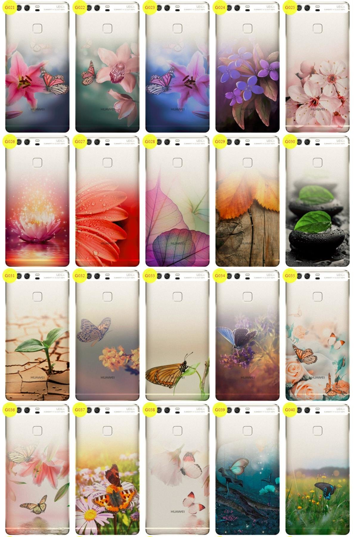 Case Cover Overprint Kreatui GRADIENT HUAWEI P9 PLUS