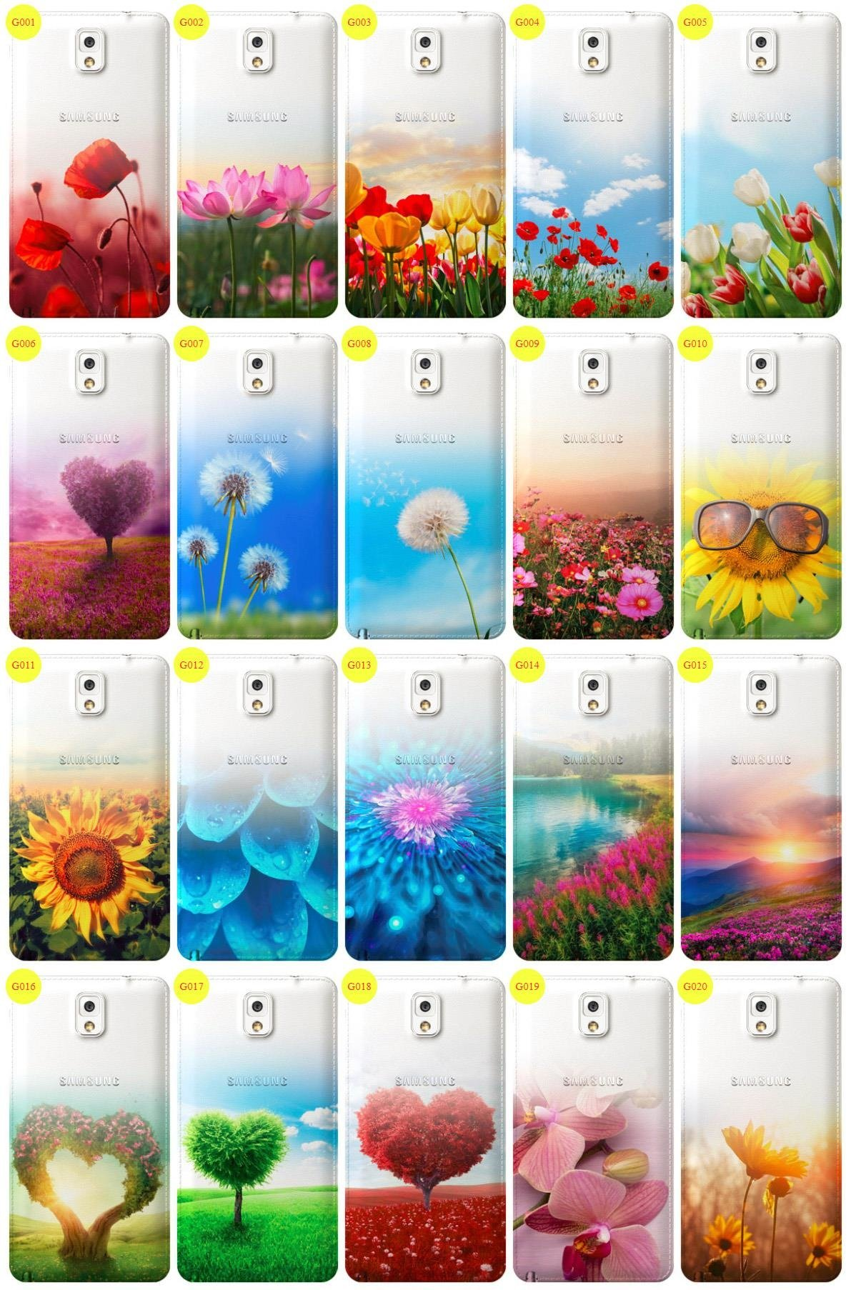Case Cover Overprint Kreatui GRADIENT SAM GALAXY NOTE 3 SM-N900 +GLASS