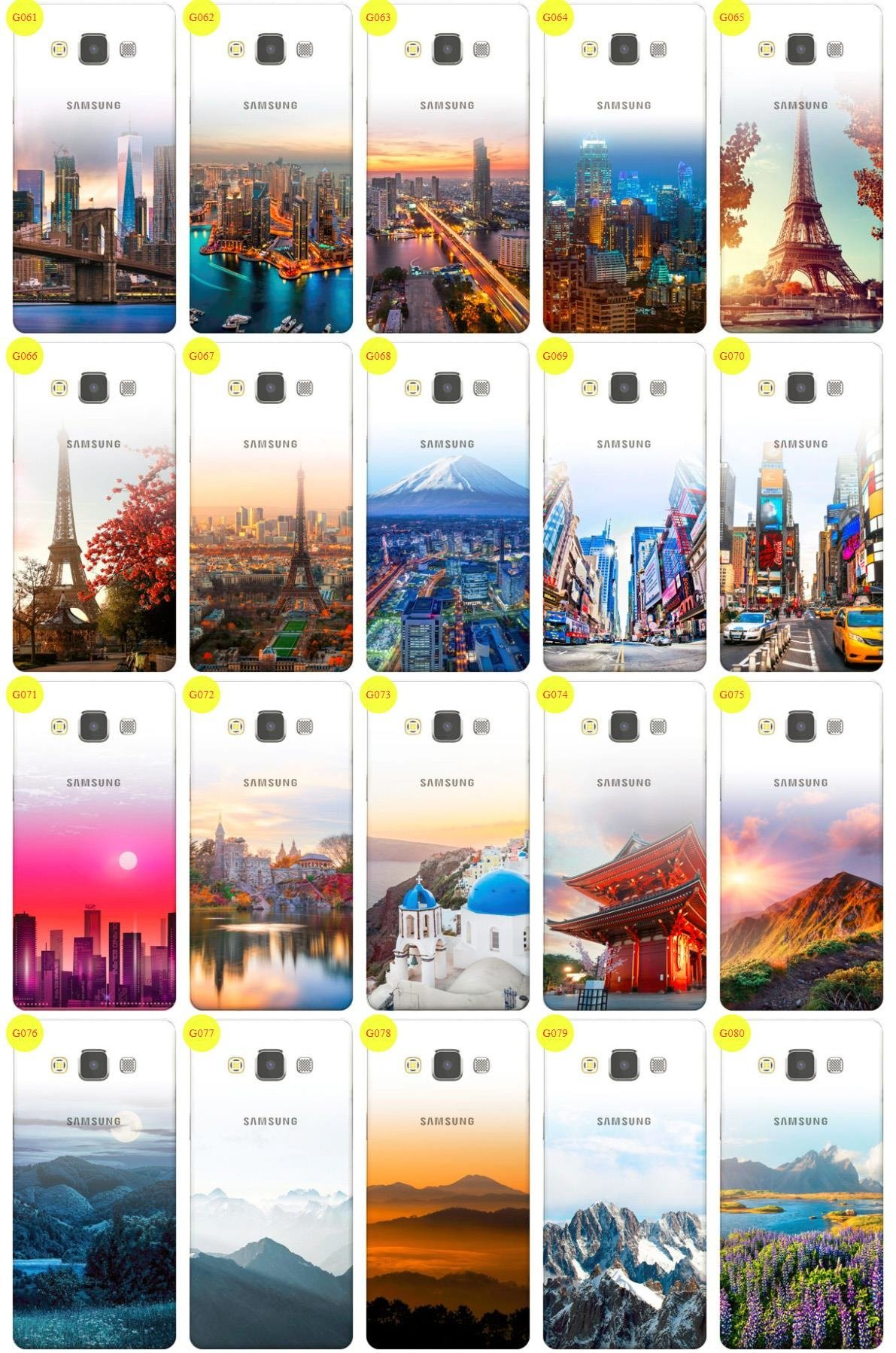 Case Cover Overprint Kreatui GRADIENT SAMSUNG GALAXY A5 A500 +GLASS 9H