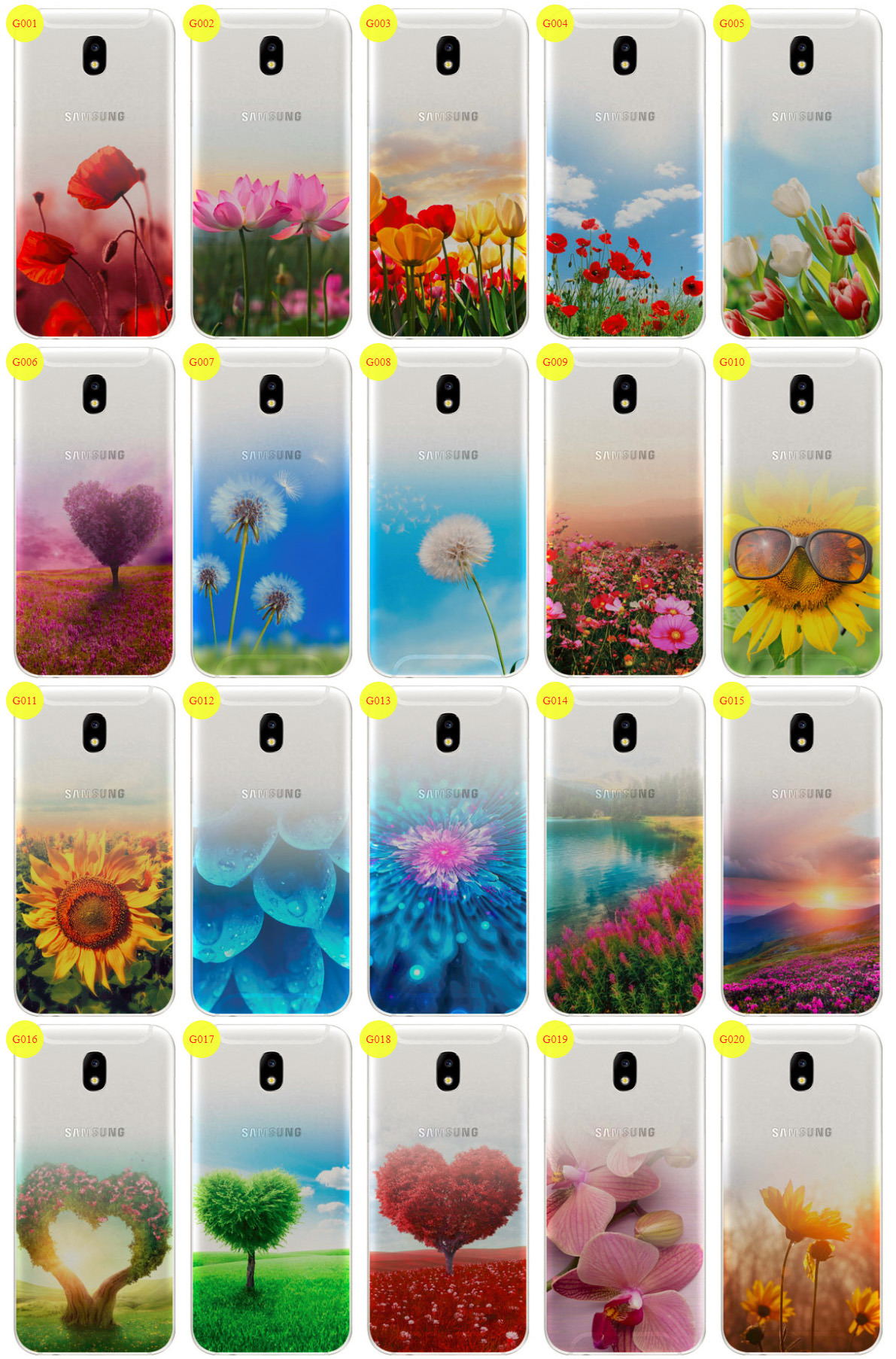 best sneakers 52e10 556fb Case Cover Overprint Kreatui GRADIENT SAMSUNG GALAXY J3 2018 SM-J377