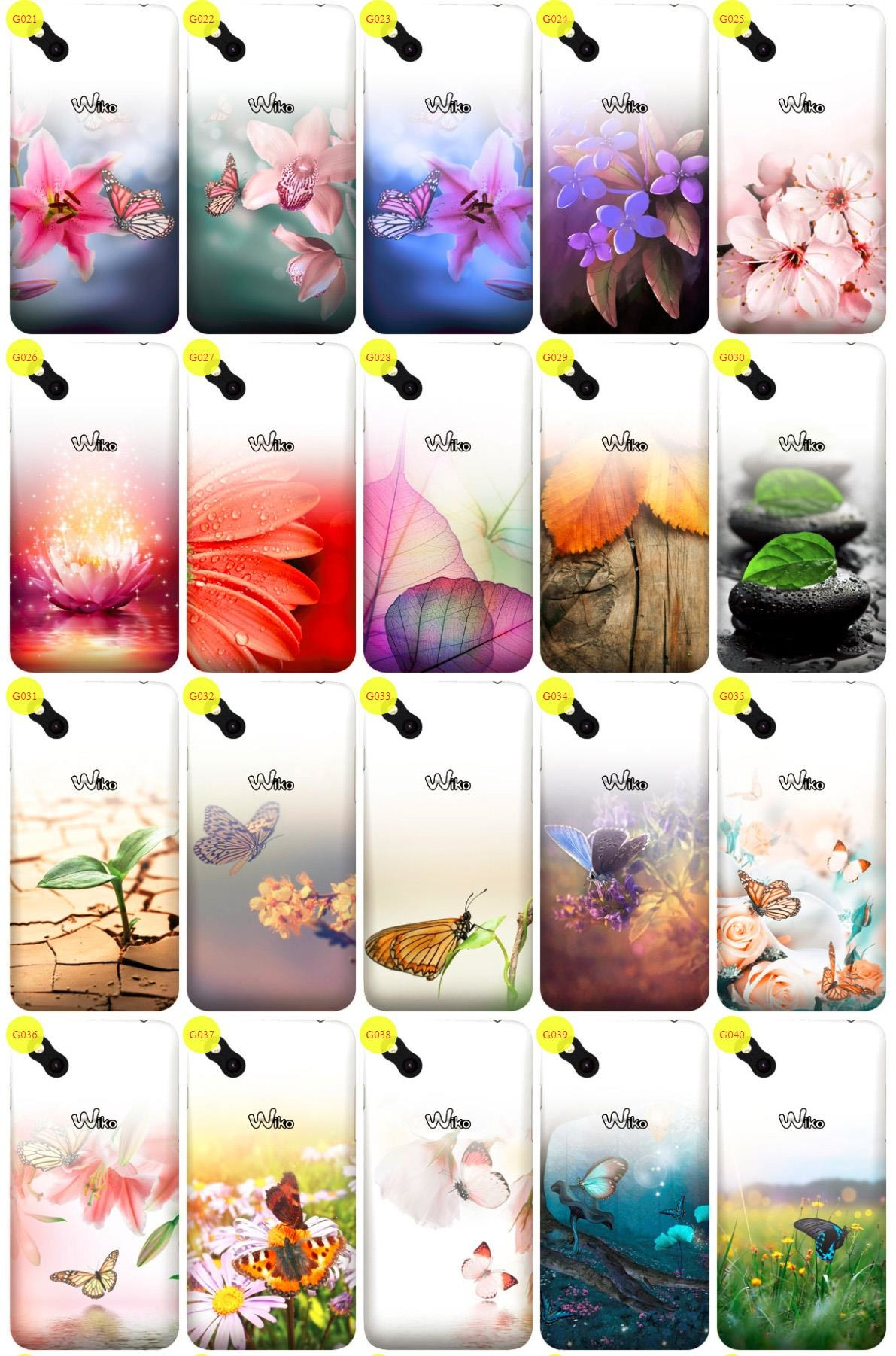 Case Cover Overprint Kreatui GRADIENT WIKO SUNNY