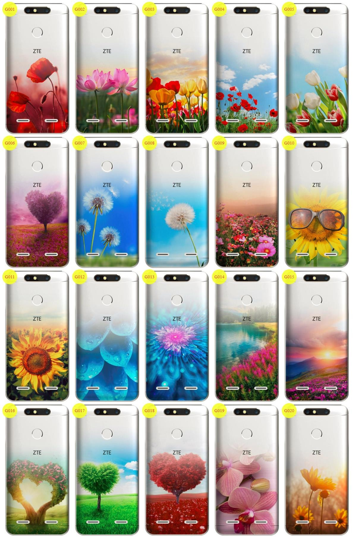 super popular 6eb10 4d490 Case Cover Overprint Kreatui GRADIENT ZTE BLADE V8 MINI