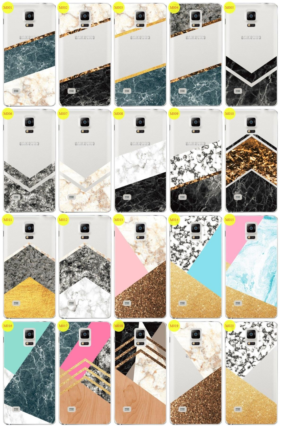 save off 0793e 480fe Case Cover Overprint Kreatui MARBLE SAMSUNG GALAXY NOTE 4 SM-N910
