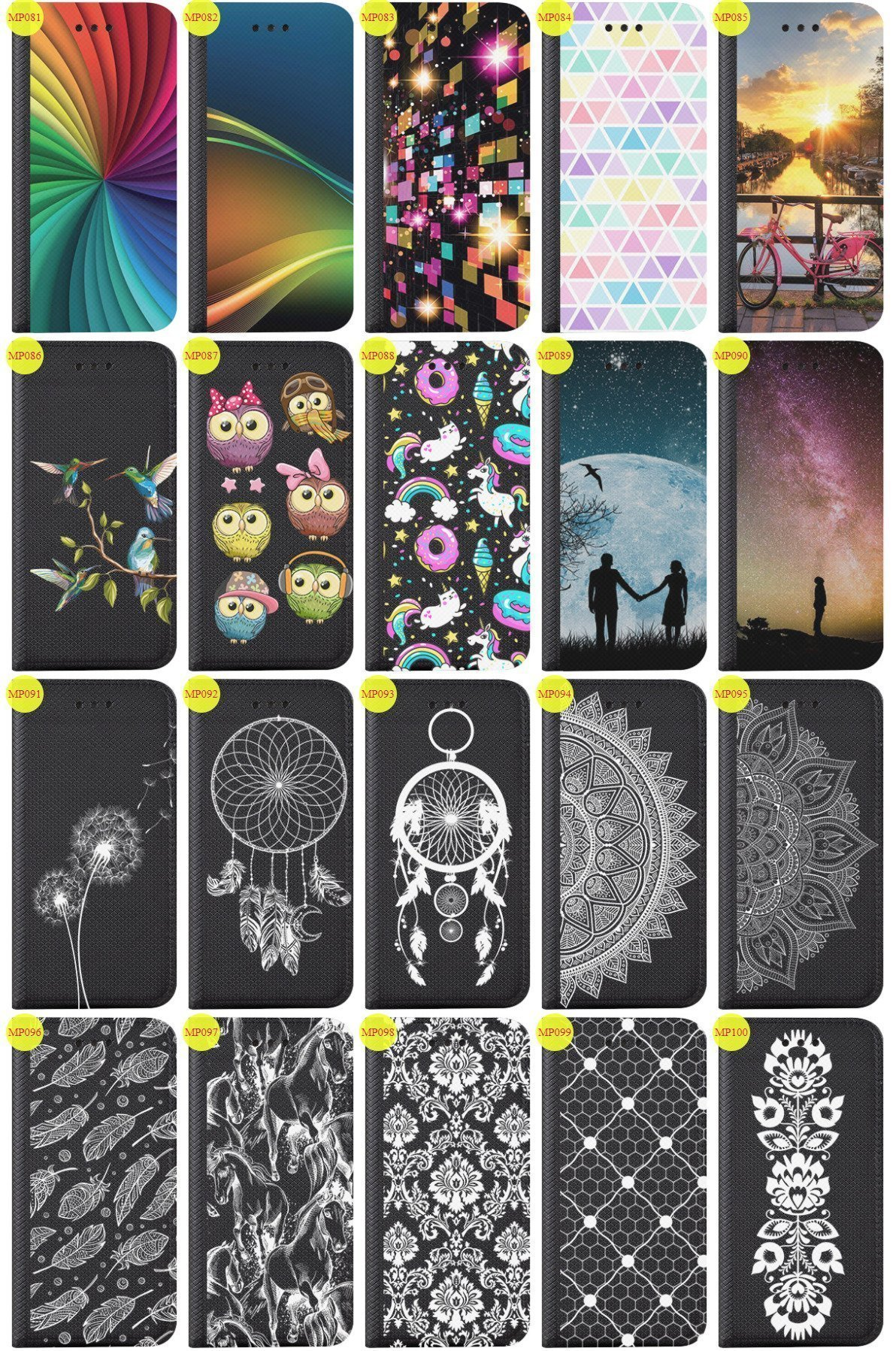 Case Cover Overprint Kreatui Magnetic Print SAMSUNG GALAXY A3 SM-A300