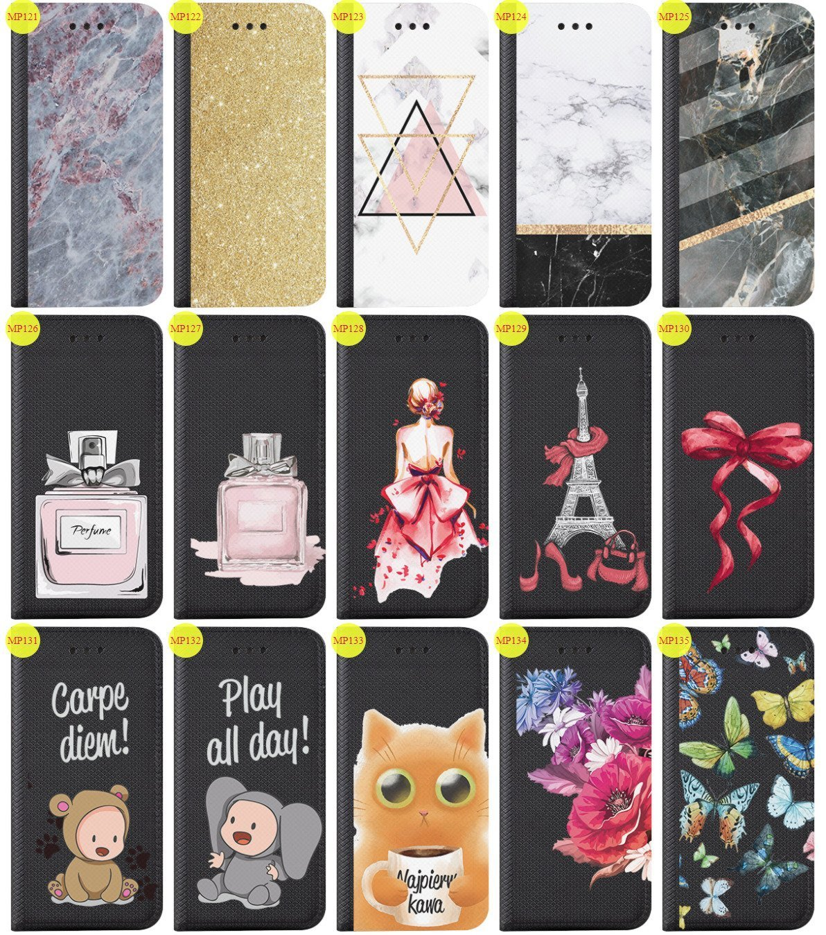 Case Cover Overprint Kreatui Magnetic Print SONY XPERIA XZ