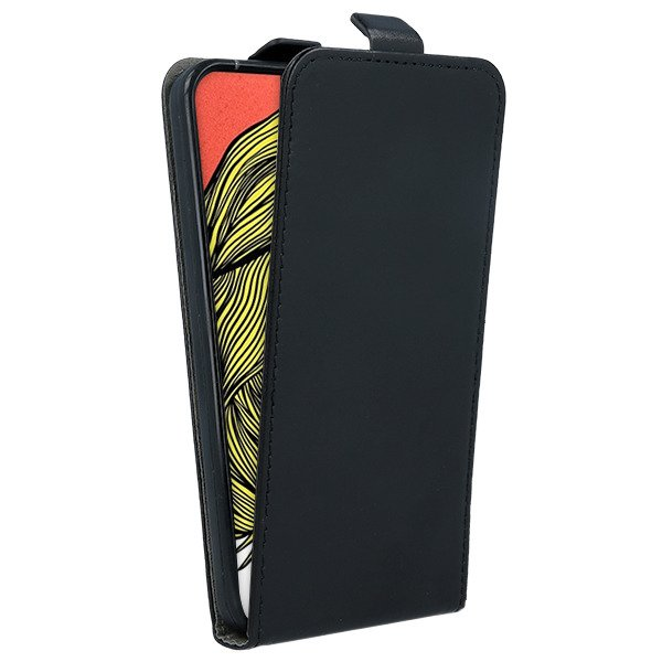 FLIP CASE COVER magnet RUBBER HUAWEI P SMART Z BLACK + GLASS 9H