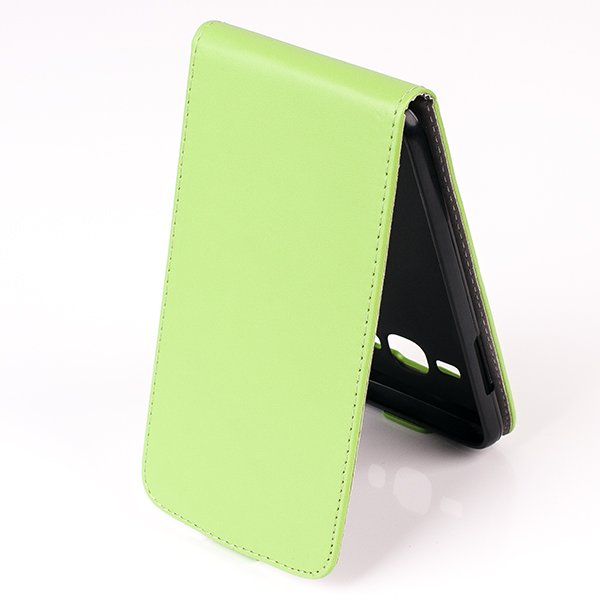 FLIP FLEX CASE COVER magnet RUBBER SAMSUNG GALAXY J5 SM-J500 GREEN