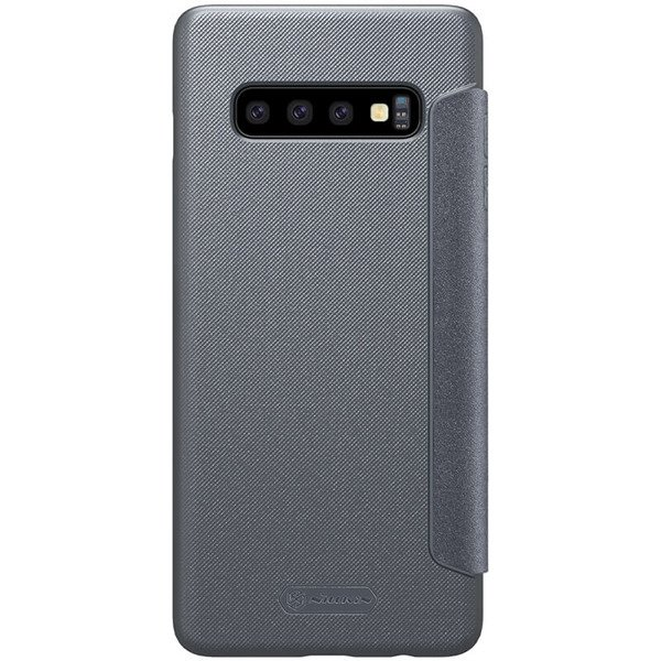 separation shoes ee328 7e9fe Flip case for SAMSUNG GALAXY S10 SM-G973 of Nillkin series Sparkle black  cover