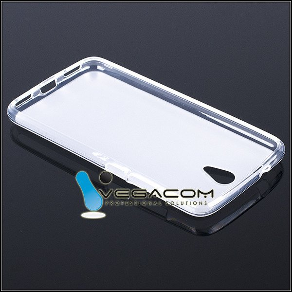 Original BACK CASE COVER GEL TPU KRUGER MATZ LIVE 3 III Transparent