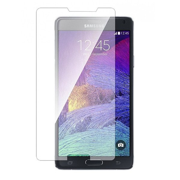 Premium Real Tempered Glass Film Screen Protector Galaxy Note 4 N910