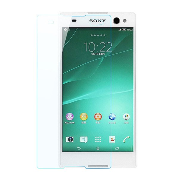 Premium Real Tempered Glass Film Screen Protector SONY XPERIA C3 D2533