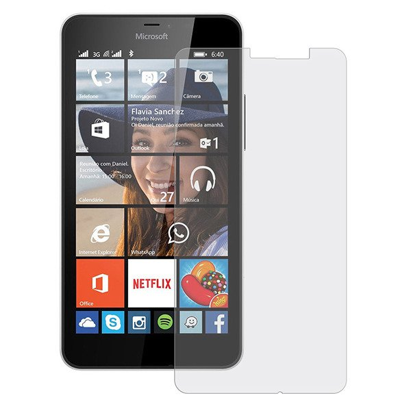 Real Tempered Glass Film 9H Screen Protector MICROSOFT LUMIA 640
