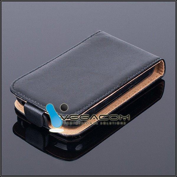 online retailer 9dd81 13c69 SLIM FLIP CASE COVER magnet TPU NOKIA ASHA 230 RM-987 BLACK