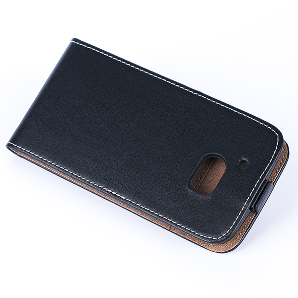 big sale 44634 2e326 SLIM FLIP FLEX CASE COVER RUBBER magnet HTC 10 BLACK