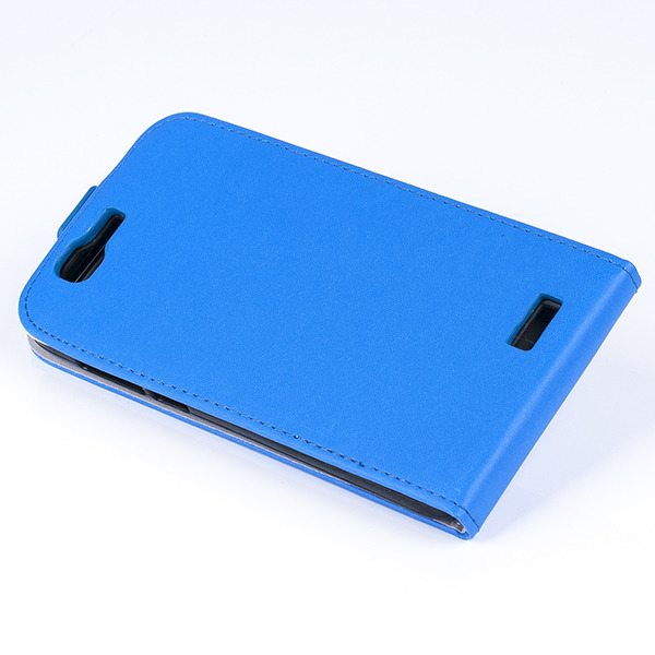 newest 0f925 7c24b SLIM FLIP FLEX CASE COVER RUBBER magnet HUAWEI G7 BLUE