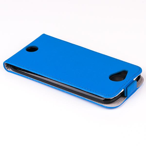 san francisco f06b3 d6c85 SLIM FLIP FLEX CASE COVER magnet RUBBER ACER LIQUID JADE S BLUE color