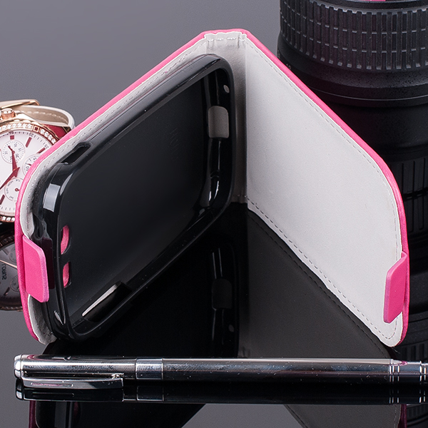 SLIM FLIP FLEX CASE COVER magnet SAMSUNG GALAXY POCKET 2 G110 PINK